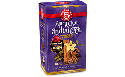 Spicy Chai Indian Tea Cápsulas